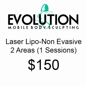 Laser-Lipo (Non Evasive) 2 Areas - 1 Session
