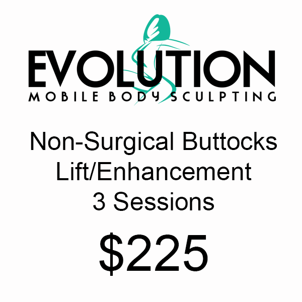 Non Surgical Buttocks Lift/Enhancement - 3 Sessions