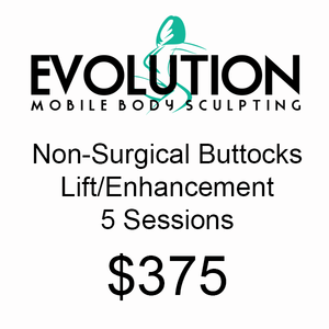 Non Surgical Buttocks Lift/Enhancement - 5 Sessions