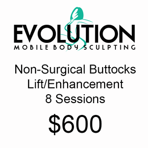 Non Surgical Buttocks Lift/Enhancement - 8 Sessions