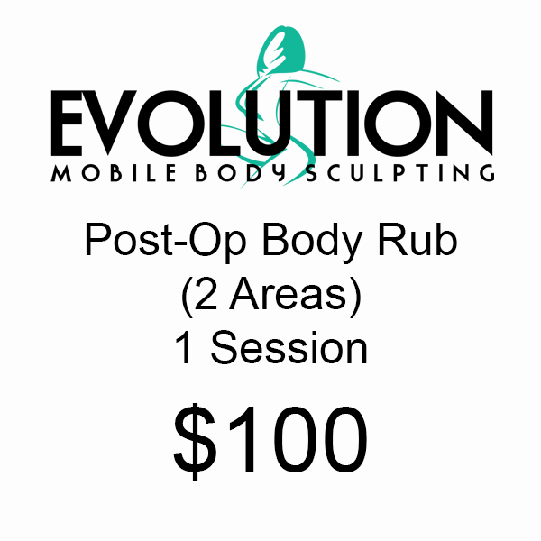 Post-Op Body Rub (2 Areas) - 1 Session