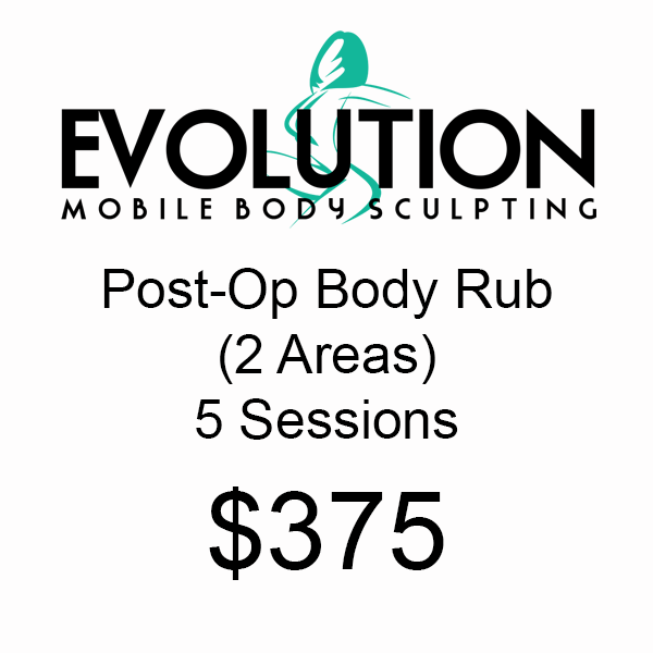 Post-Op Body Rub (2 Areas) - 5 Session