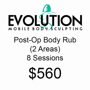 Post-Op Body Rub (2 Areas) - 8 Sessions