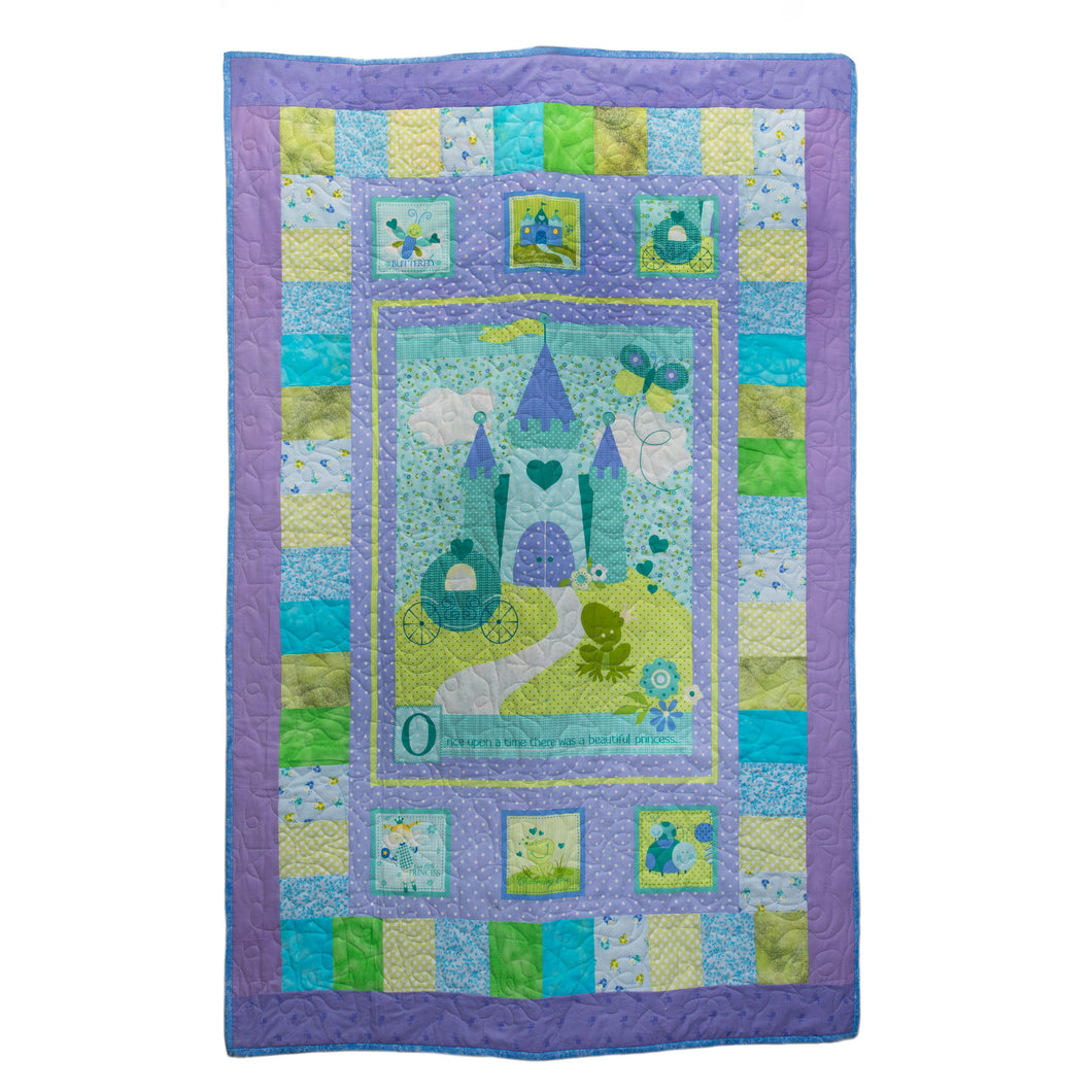 Fairy castle blanket by Werribee Ladies for Kids Auxiliary