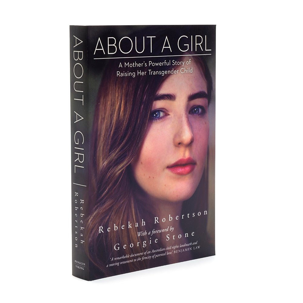 About a Girl Book by Transcend Auxiliary