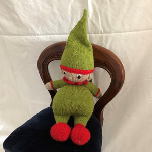 Knitted Elf by Parkville Auxiliary