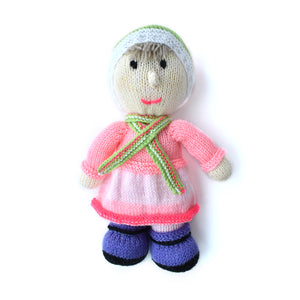 Knitted Girl by Geelong Auxiliary
