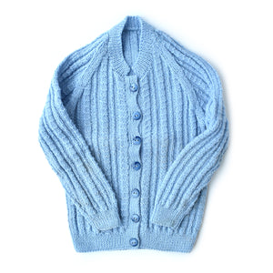Blue Cardigan by Geelong Auxiliary