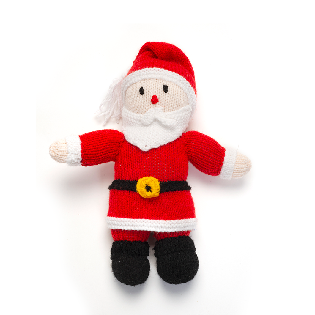 Medium Knitted Santa by Geelong Auxiliary