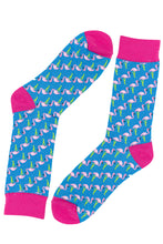 Load image into Gallery viewer, Flamingo Socks by Inverloch Diabetic Unit Auxiliary