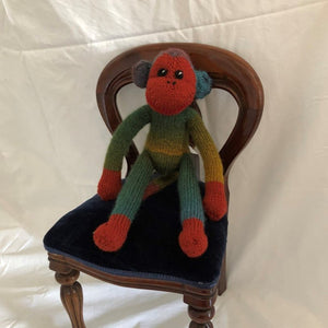 Multi-coloured monkey by Parkville Auxiliary