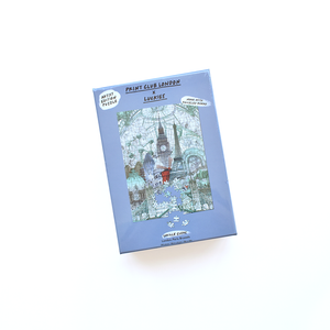 "Print Club London - 500pce Jigsaw Puzzle ""London, Paris, Brussels"""