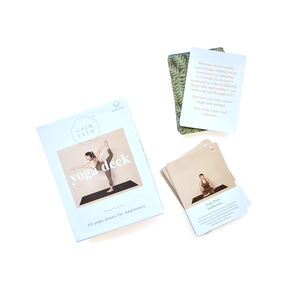 Yoga Deck - 52 Yoga poses for beginners