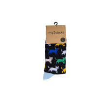 Load image into Gallery viewer, Cat Socks by Inverloch Diabetic Unit Auxiliary