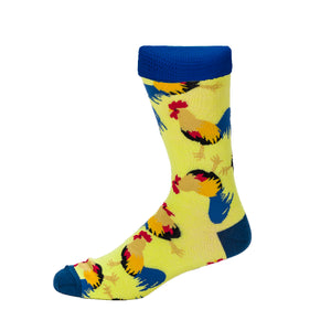 Rooster Socks by Inverloch Diabetic Unit Auxiliary