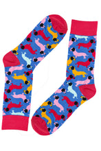 Load image into Gallery viewer, Sausage Dog Socks by Inverloch Diabetic Unit Auxiliary