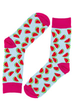 Load image into Gallery viewer, Watermelon Socks by Inverloch Diabetic Unit Auxiliary