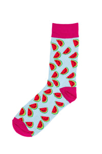 Watermelon Socks by Inverloch Diabetic Unit Auxiliary