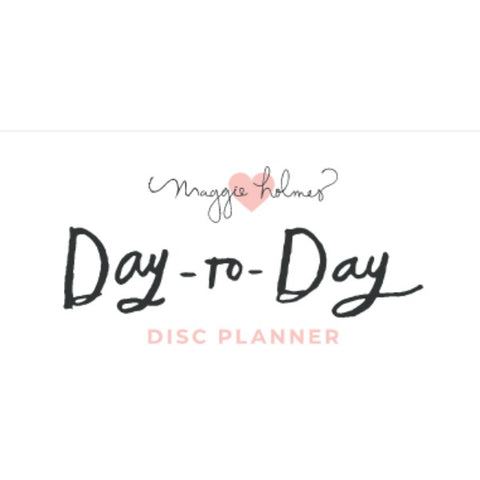 Day to Day Disc Planner