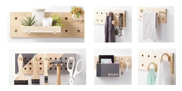home decor pegboard