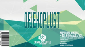 Of Je Hop Lust (2020) 0,44L - Maastricht.beer