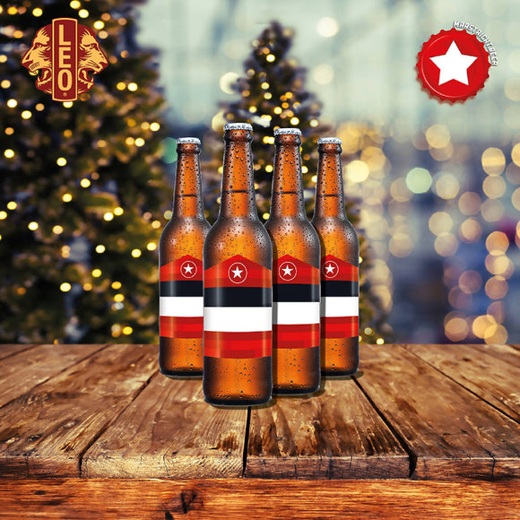 Leo Alcohol-Free Christmas Charity Beer Package - Maastricht.beer