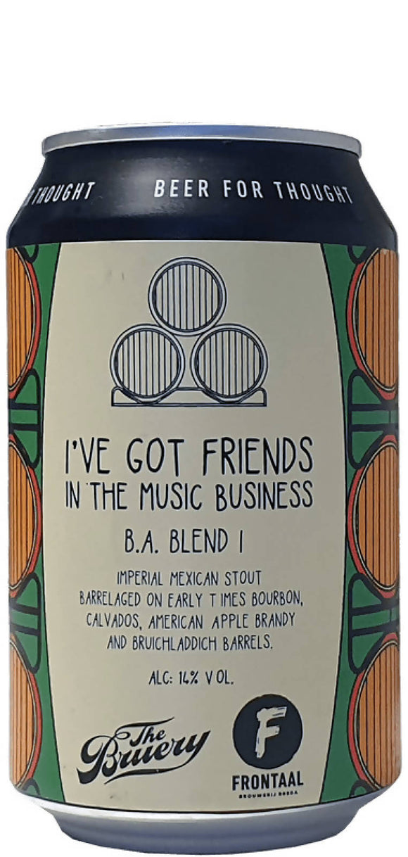 I've Got Friends In The Music Business B.A. Blend I 0,33L - Maastricht.beer