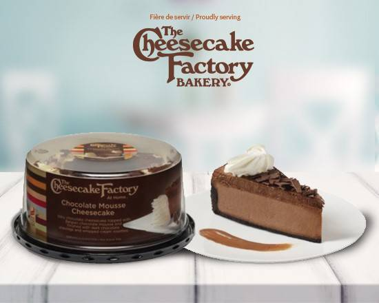 "6"" The Cheesecake Factory Chocolate Mousse Cheesecake"