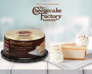 "6"" The Cheesecake Factory Dulce de Leche Caramel Cheesecake"