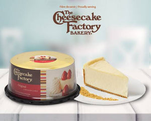 "6"" The Cheese Cake Factory Original (Plain) Cake"