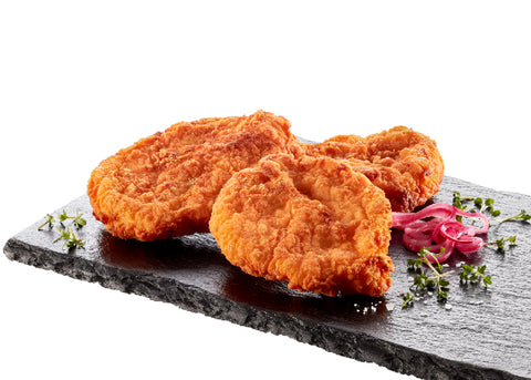 Hot & spicy breaded chicken fillet