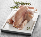 Organic hen without giblets, 1100g