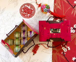 [C4] Taro Pastry & Green Tea, Red Bean & Mochi Pastry 8 in Gift Box