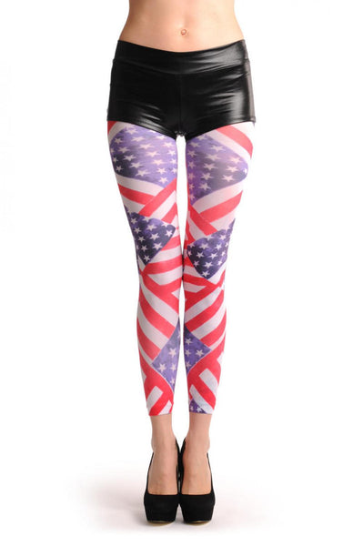 American Flag Footless