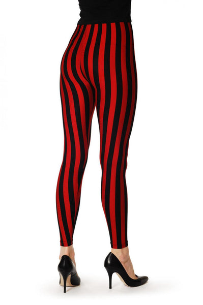 Black & Red Strips