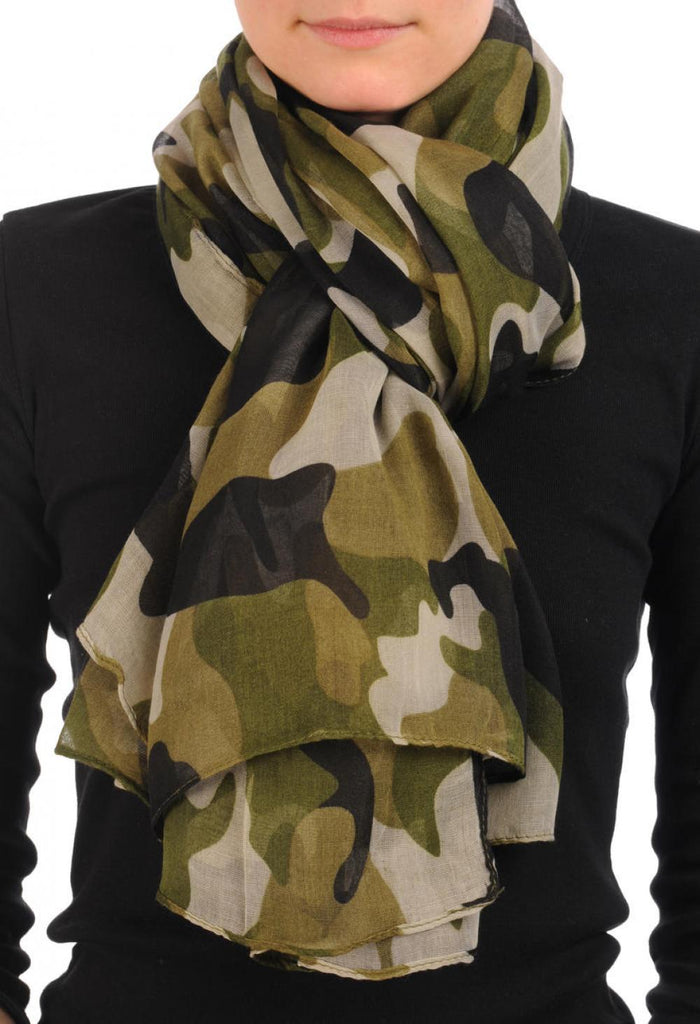 Camouflage Unisex Scarf & Beach Sarong
