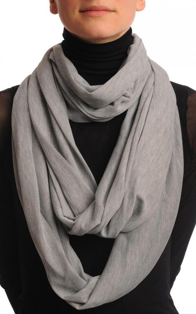 Grey Two Or Three Loops Snood