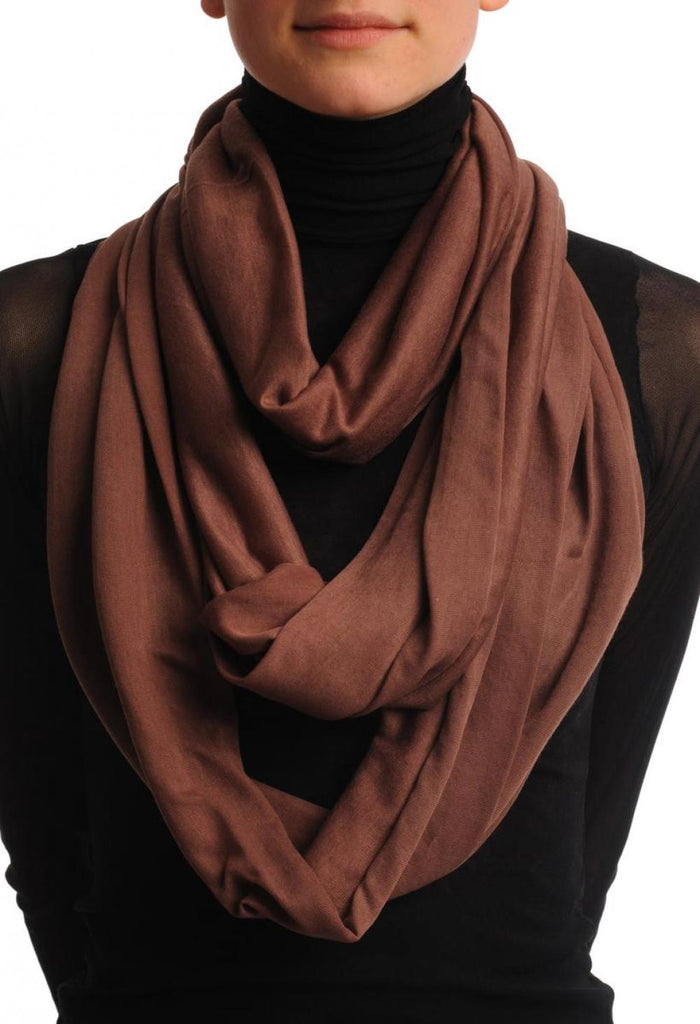 Terra Cotta Two Or Three Loops Snood
