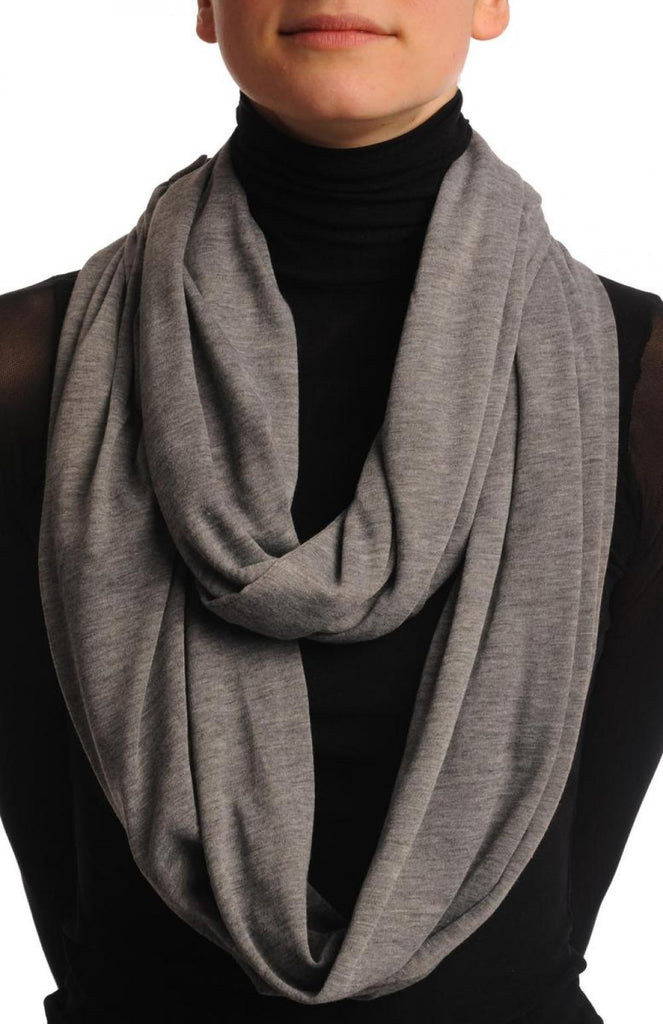 Grey Double Layered Snood