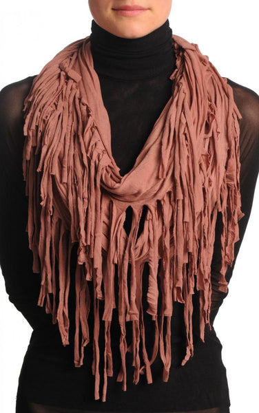 Catawba Grape With Tassels Snood Scarf