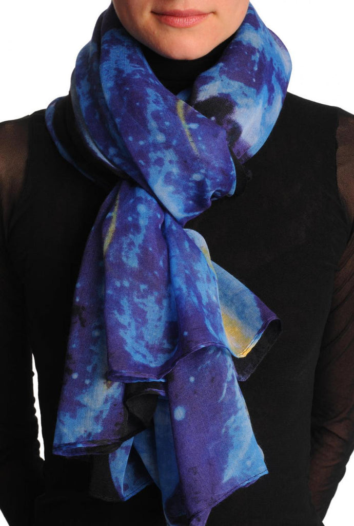 Blue Galaxy Unisex Scarf & Beach Sarong
