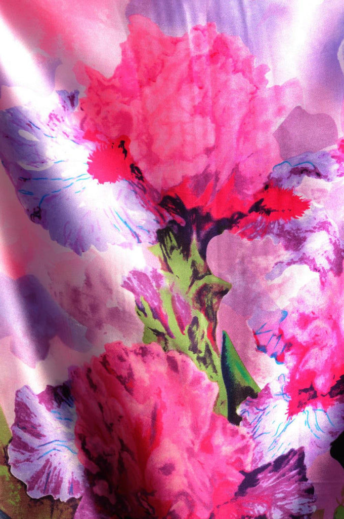 Large Dark Pink and Purple Peony Flowers SF001524