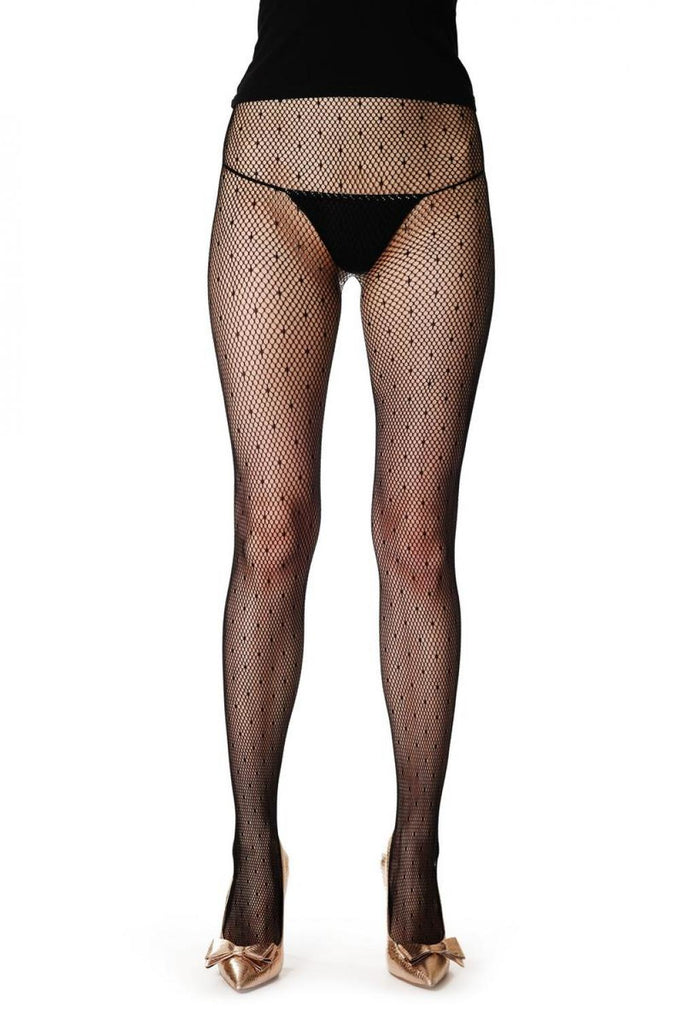 Fishnet With Small Dots