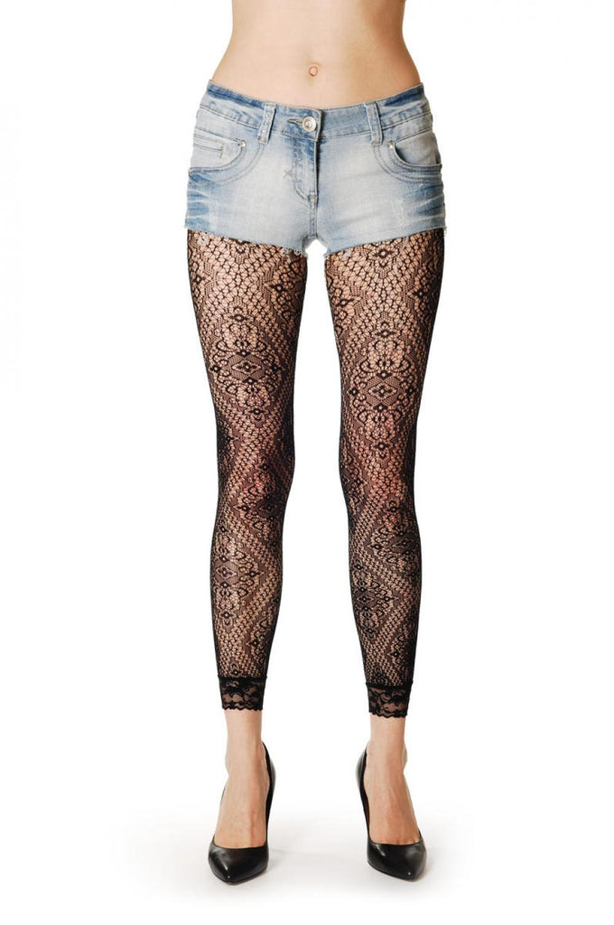 Lace Rectangles Footless