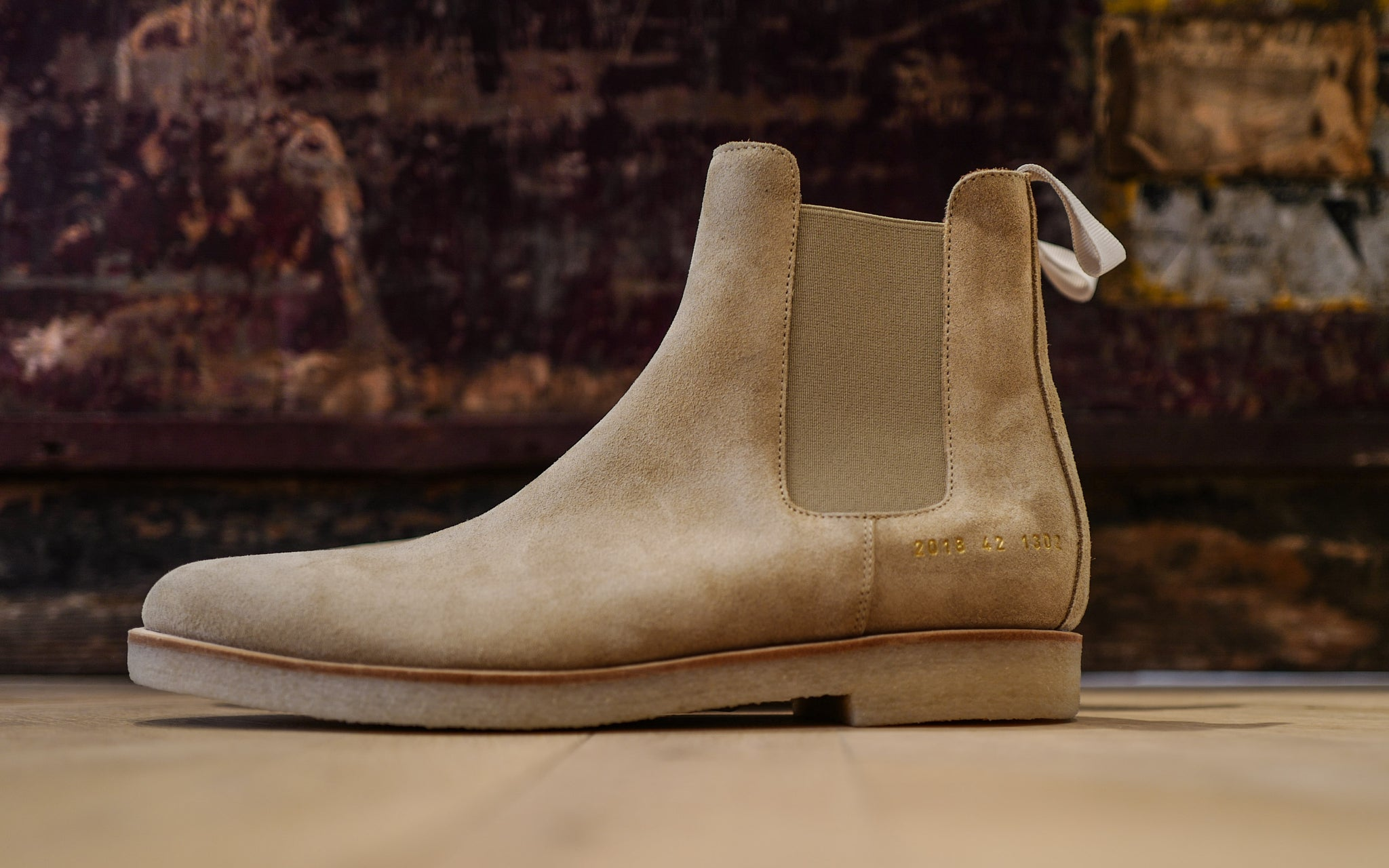 Common Projects Chelsea boot tan
