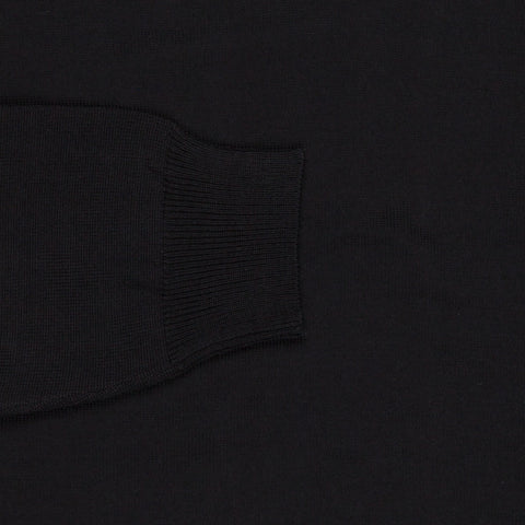 Zanone V neck Merino wool Nero