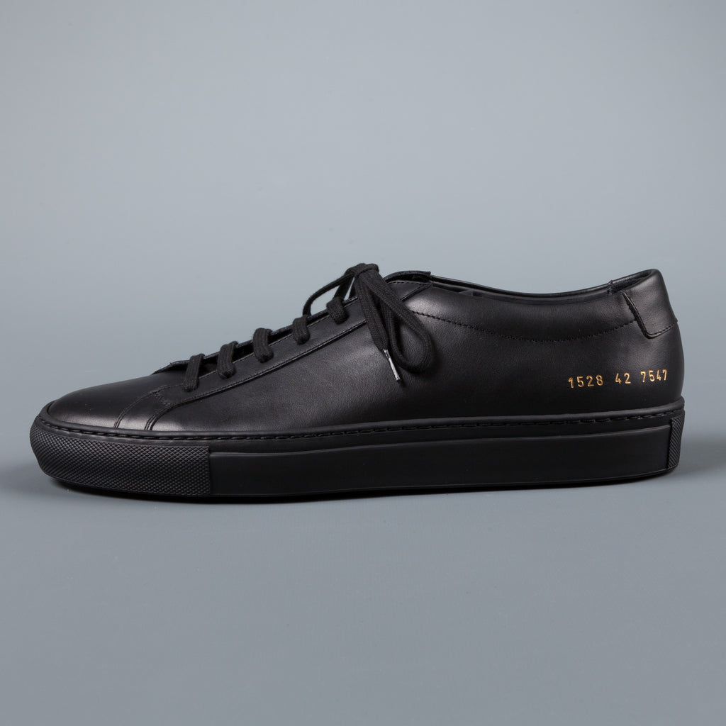 common projects achilles low black frans boone store. Black Bedroom Furniture Sets. Home Design Ideas