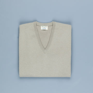 William Lockie Oxton Cashmere V-Neck Tankard