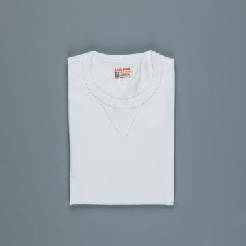 The Real McCoy's Gusset Tee White
