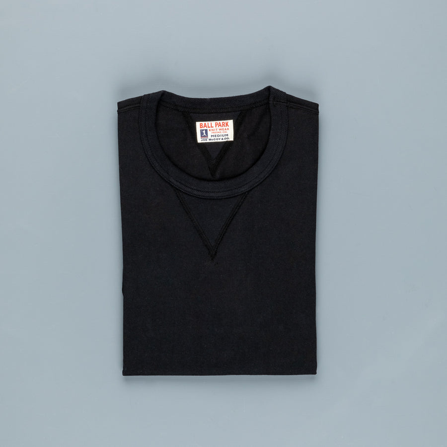 The Real McCoy's Gusset Tee Black